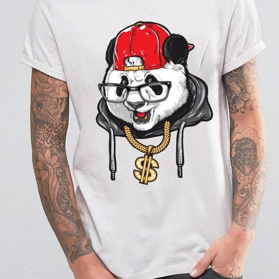 Barbat-panda-gangster
