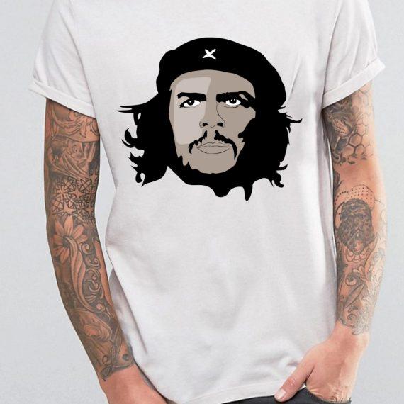 Che Guevara Tricou Alb Barbat