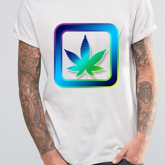 Legalize Tricou Alb Barbat