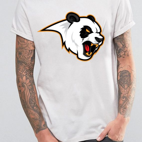 Mad Bear Tricou Alb Barbat