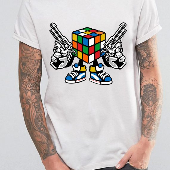 Rubix Killer Tricou Alb Barbat