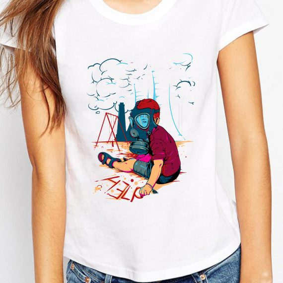 Save The Planet Tricou Alb Femeie