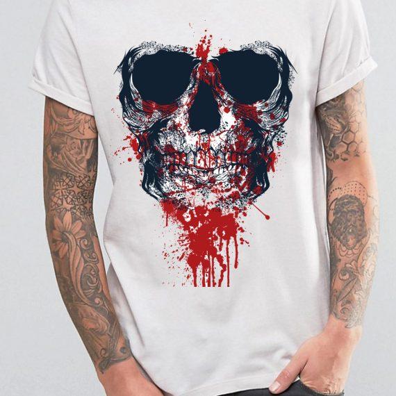 barbat-craniu-blood