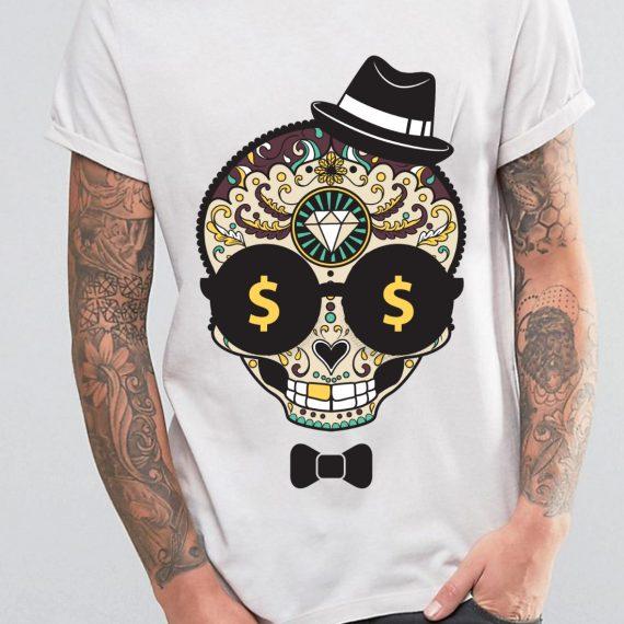 barbat-skull-papion