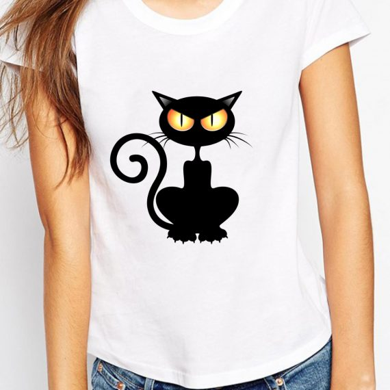 femeie-black-cat