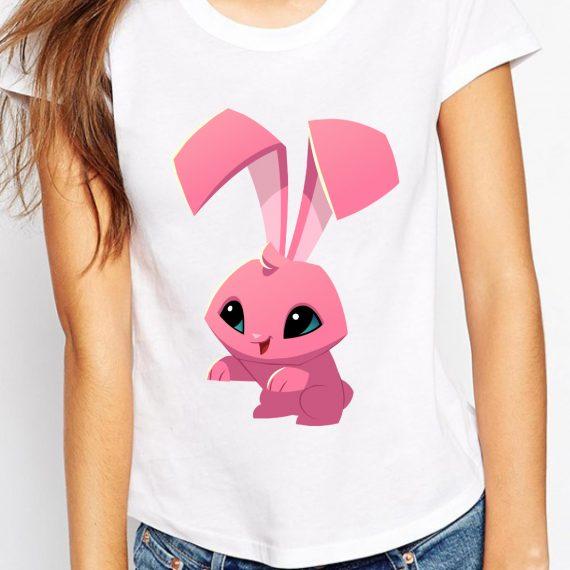femeie-pink-bunny