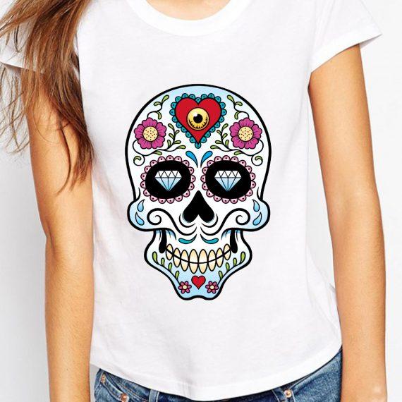 femeie-skull-love