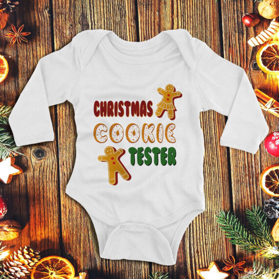 1Christmas cookie tester – copil unisex