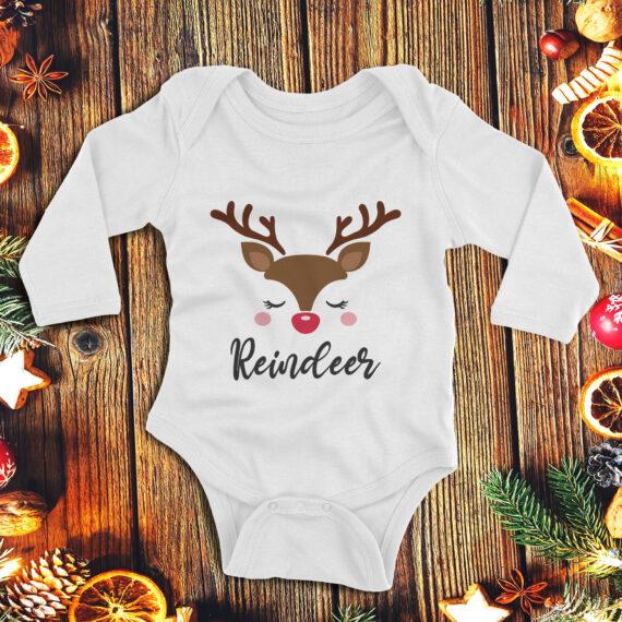 1Cute reindeer – fetita