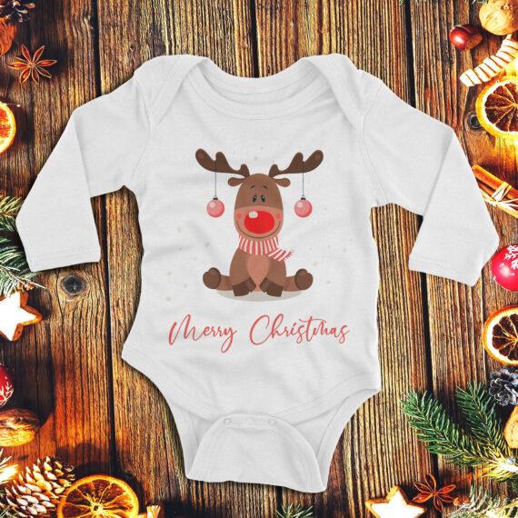 1Merry Christmas from Reindeer – fetita