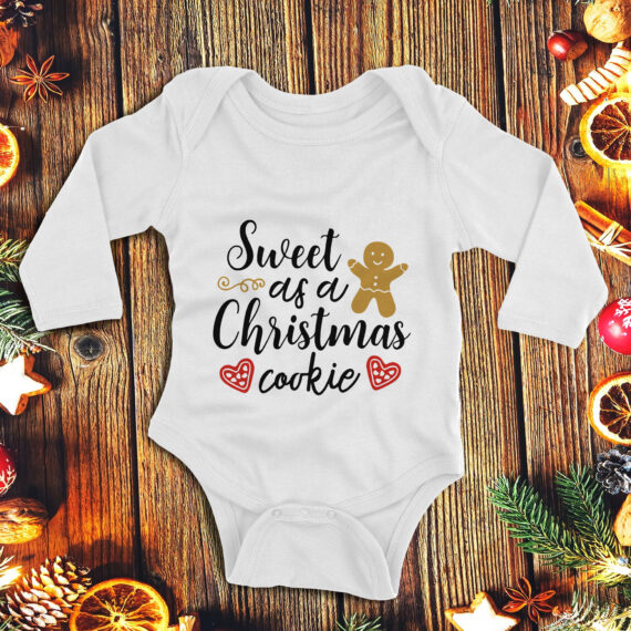 1Sweet as a Christmas cookie – copil unisex