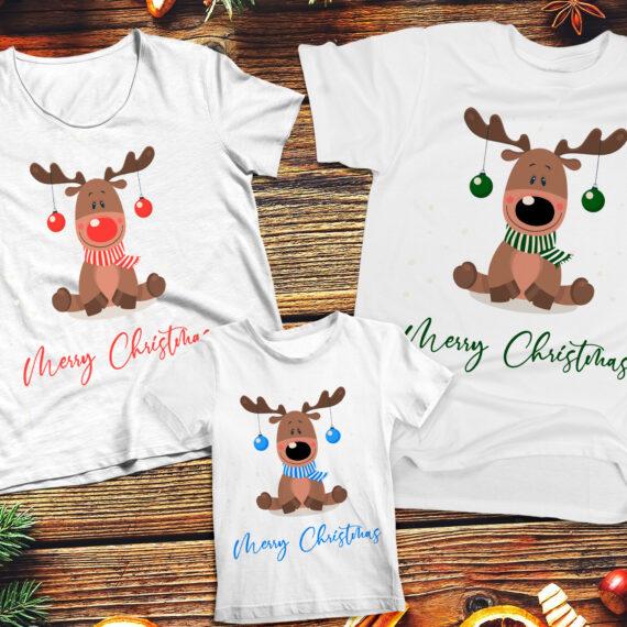 Familie – MC from cute Reindeer ShirtBoy